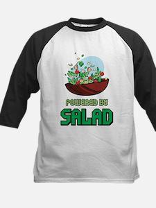 Powered By Salad Kids Baseball Jersey