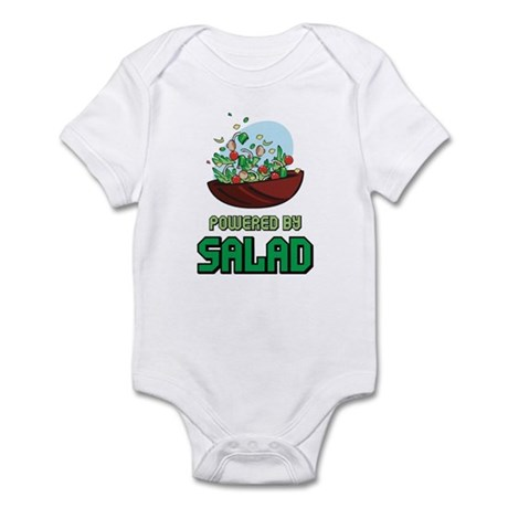 Powered By Salad Infant Bodysuit