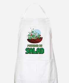 Powered By Salad BBQ Apron