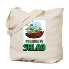 Powered By Salad Tote Bag