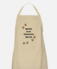 Wire Fox Terrier Mom BBQ Apron