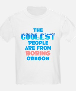 Coolest: Boring, OR T-Shirt