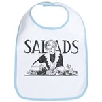 Retro Salad Bib