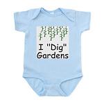 "I ""Dig"" Gardens Infant Creeper"