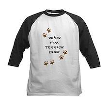 Wire Fox Terrier Dad Tee