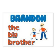 Brandon - The Big Brother  Postcards (Package of 8