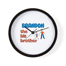 Brandon - The Big Brother  Wall Clock