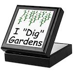 "I ""Dig"" Gardens Keepsake Box"