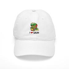 I Love Salad Baseball Cap