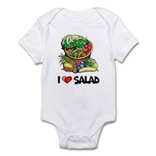 I Love Salad Infant Bodysuit