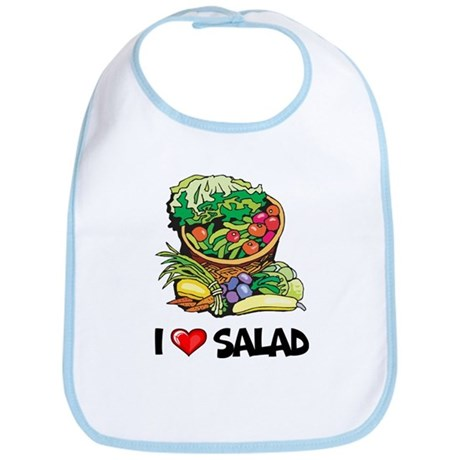 I Love Salad Bib