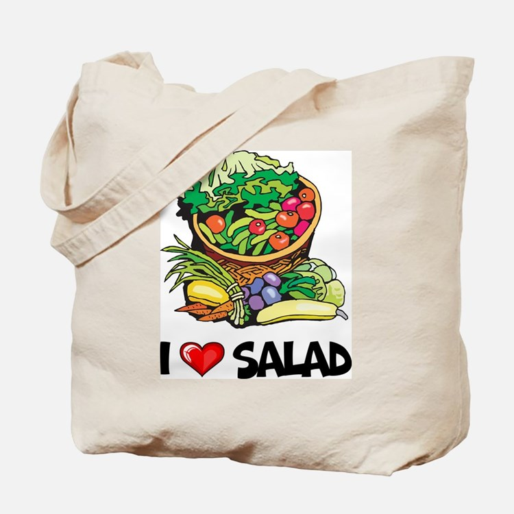 I Love Salad Tote Bag