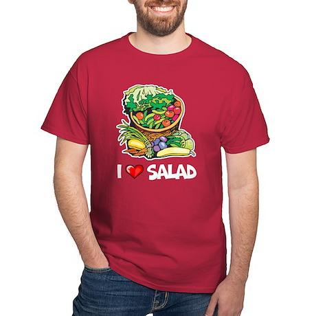 I Love Salad Dark T-Shirt