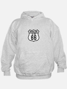 Winslow, Arizona Route 66 Hoodie