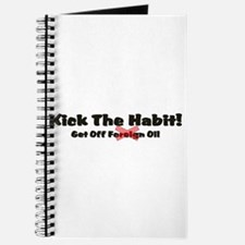Kick The Oil Habit! Journal