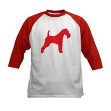 Red Wire Fox Terrier Tee