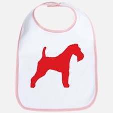 Red Wire Fox Terrier Bib