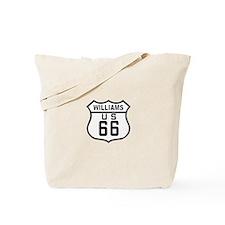 Williams, Arizona Route 66 Tote Bag