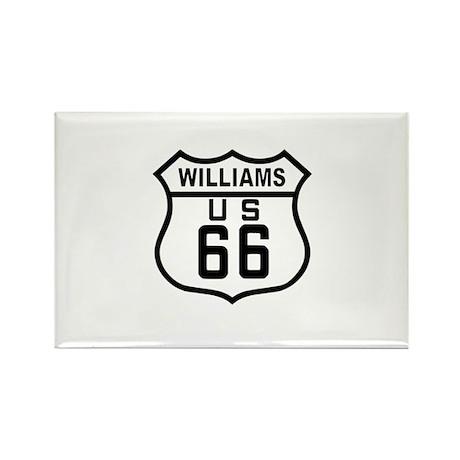 Williams, Arizona Route 66 Rectangle Magnet