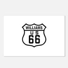 Williams, Arizona Route 66 Postcards (Package of 8