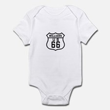 Williams, Arizona Route 66 Infant Bodysuit