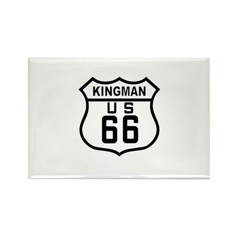 Kingman, Arizona Route 66 Rectangle Magnet