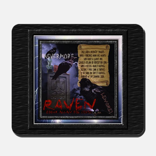 Edgar Allan Poe's The Raven - Mousepad