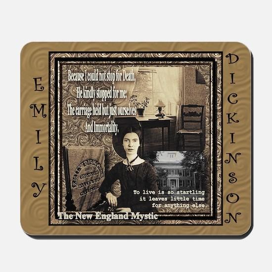 Emily Dickinson - Mousepad