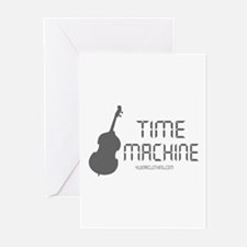 Time Machine Bass Greeting Cards (Pk of 10)