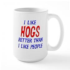 I Like Hogs Mug