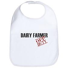 Off Duty Dairy Farmer Bib