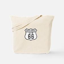 Santa Monica Route 66 Tote Bag