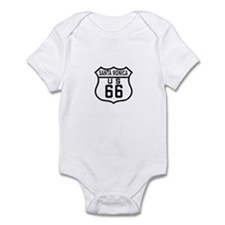 Santa Monica Route 66 Infant Bodysuit