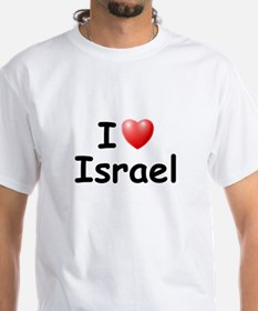 I Love Israel (Black) Shirt