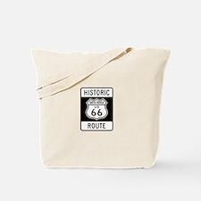 Santa Monica Historic Route 6 Tote Bag