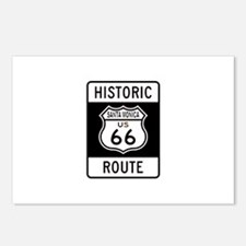 Santa Monica Historic Route 6 Postcards (Package o