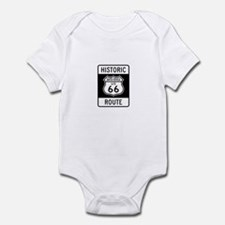 Santa Monica Historic Route 6 Infant Bodysuit