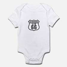 San Bernadino Route 66 Infant Bodysuit