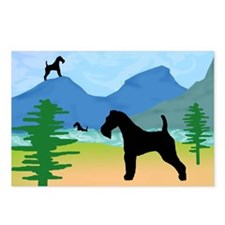 Wild River Wire Fox Terrier Postcards (Package of