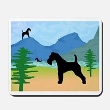 Wild River Wire Fox Terrier Mousepad