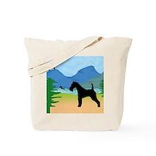 Wild River Wire Fox Terrier Tote Bag