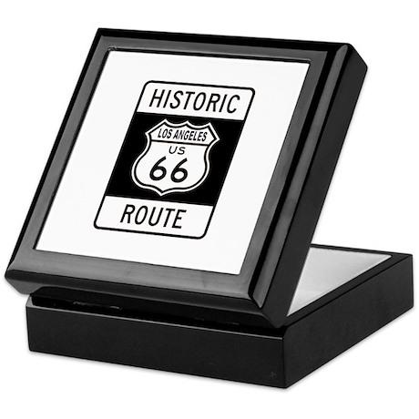 Los Angeles Historic Route 66 Keepsake Box
