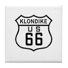 Klondike Route 66 Tile Coaster