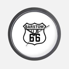Barstow Route 66 Wall Clock