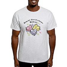 Beardie Conversation Hearts T-Shirt