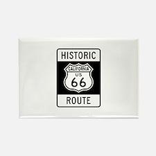 California Historic Route 66 Rectangle Magnet