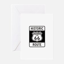 California Historic Route 66 Greeting Cards (Pk of