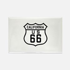 California Route 66 Rectangle Magnet (10 pack)