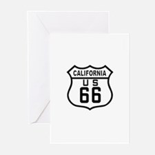 California Route 66 Greeting Cards (Pk of 10)