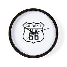 California Route 66 Wall Clock